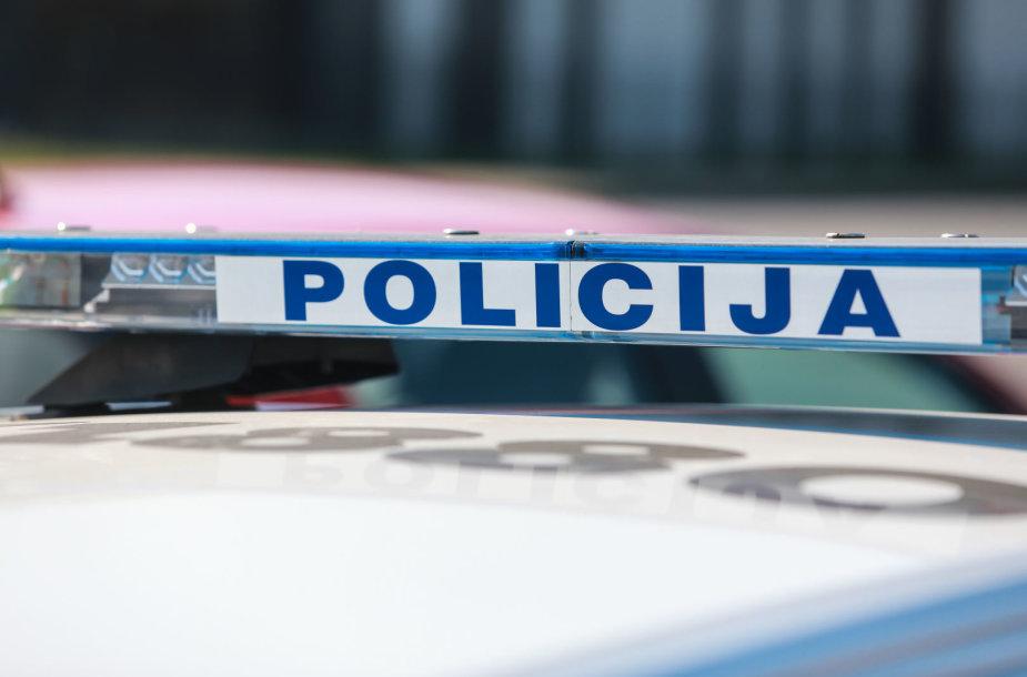 Policijos priemonė Kaune