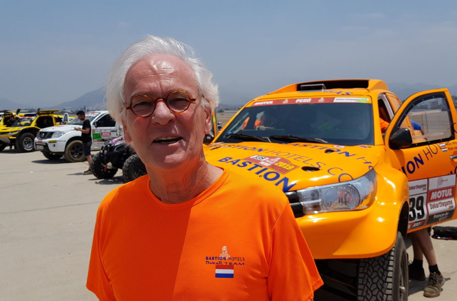 Maik Willems, Bastion Hotels Dakar Team