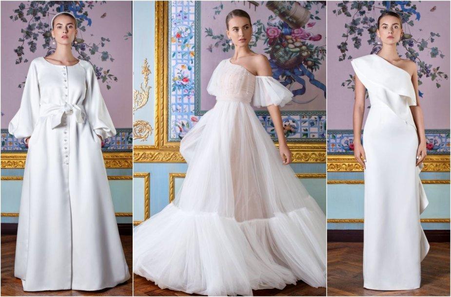Agnės Deveikytės 2020 m. vestuvinių suknelių kolekcijos modeliai