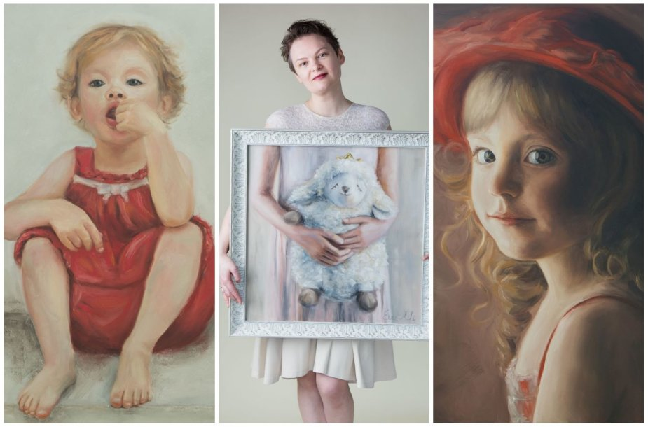Eva Miliūnienė-Mili ir jos tapybos darbai