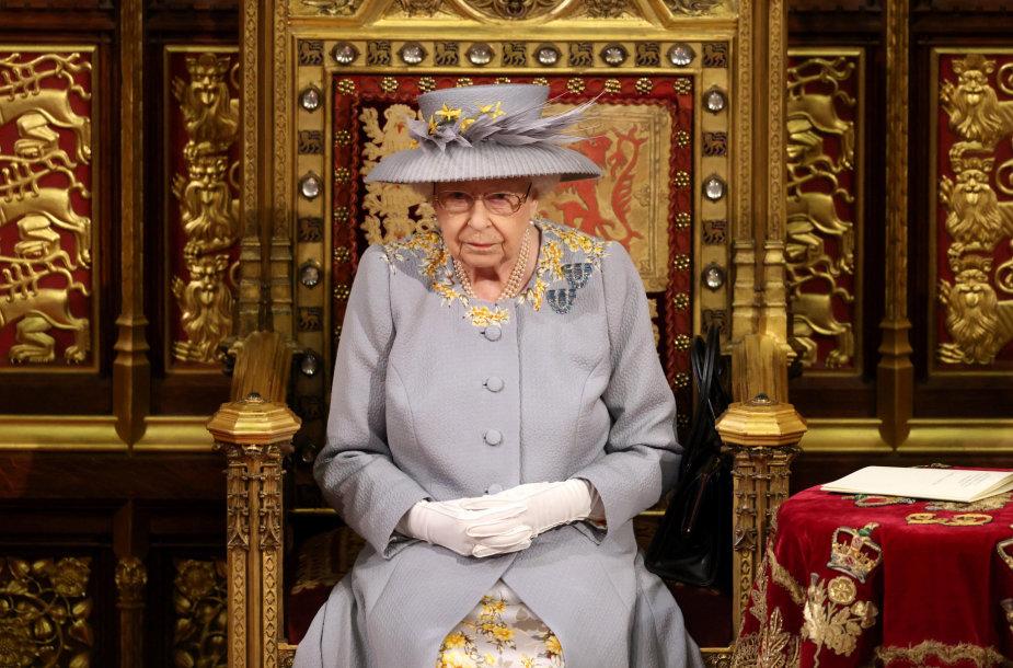 Britų karalienė Elizabeth II