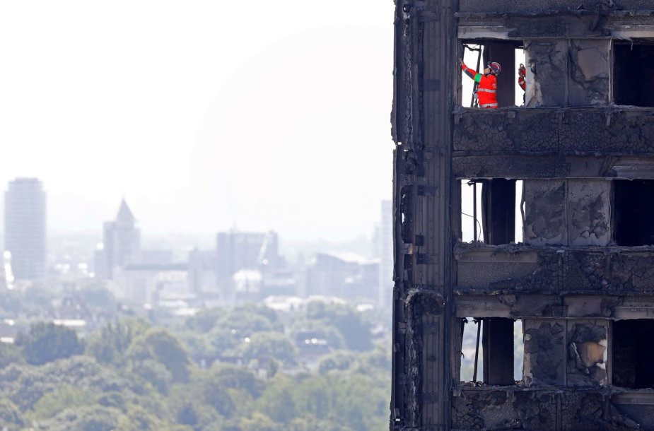 Londono ugniagesiai