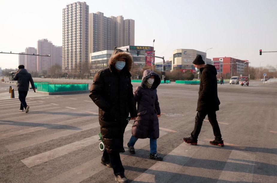 Pekine dėl COVID-19 protrūkio paskelbtas dalinis karantinas