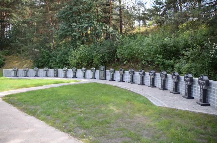Ukmergės rajone pastatytas memorialas tarpukario Lietuvos Respublikos ministrams