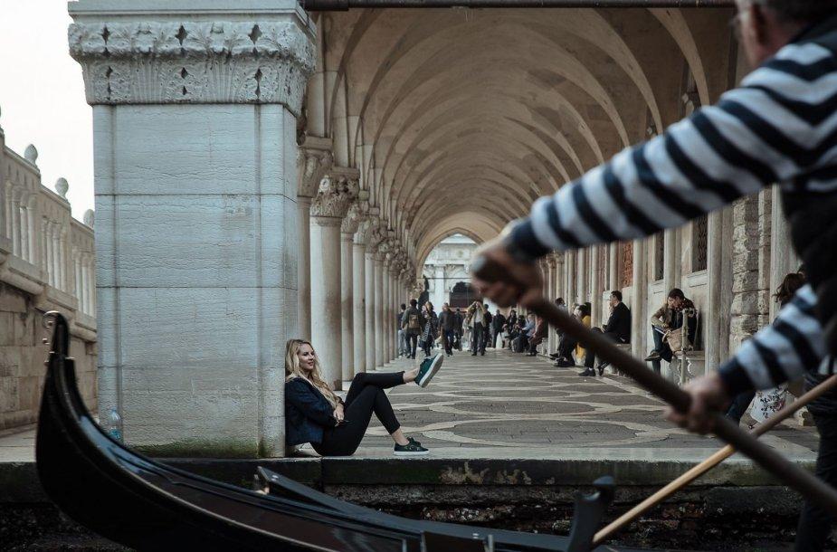 Gondola – Venecijos simbolis