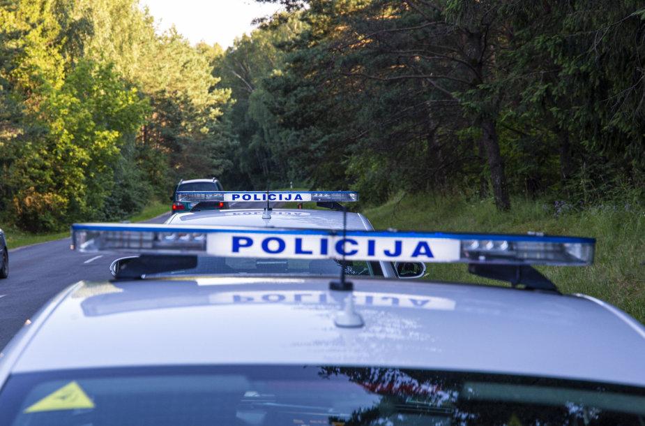 Policijos reidas Vilniaus apskrityje