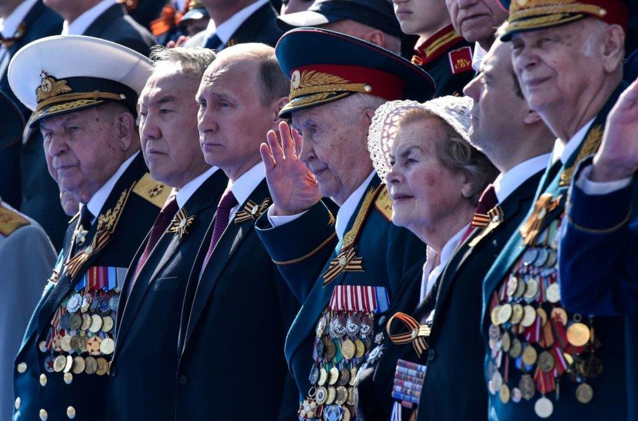 Rusijoje įvyko tradicinis Pergalės dienos karinis paradas