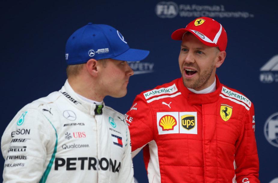 """""""Formulės 1"""" Kinijos GP greičiausias buvo Sebastianas Vettelis"""