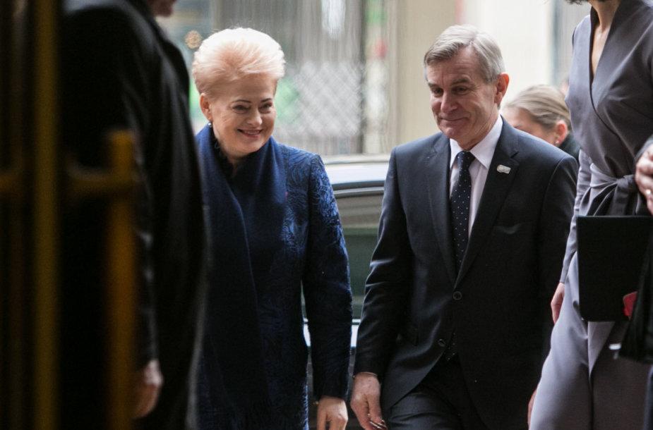 Dalia Grybauskaitė ir Viktoras Pranckietis