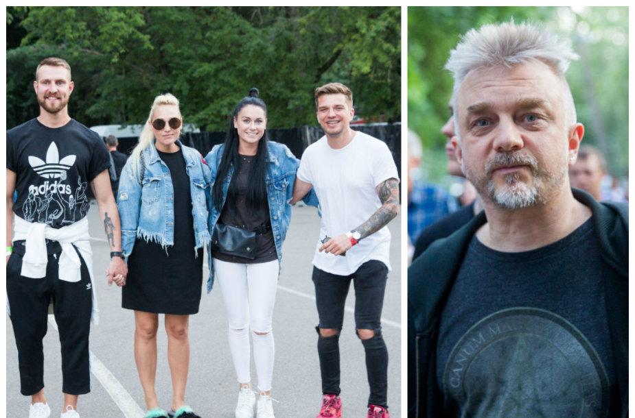Mantas ir Indrė Stonkai, Simona ir Jonas Nainiai, Andrius Mamontovas