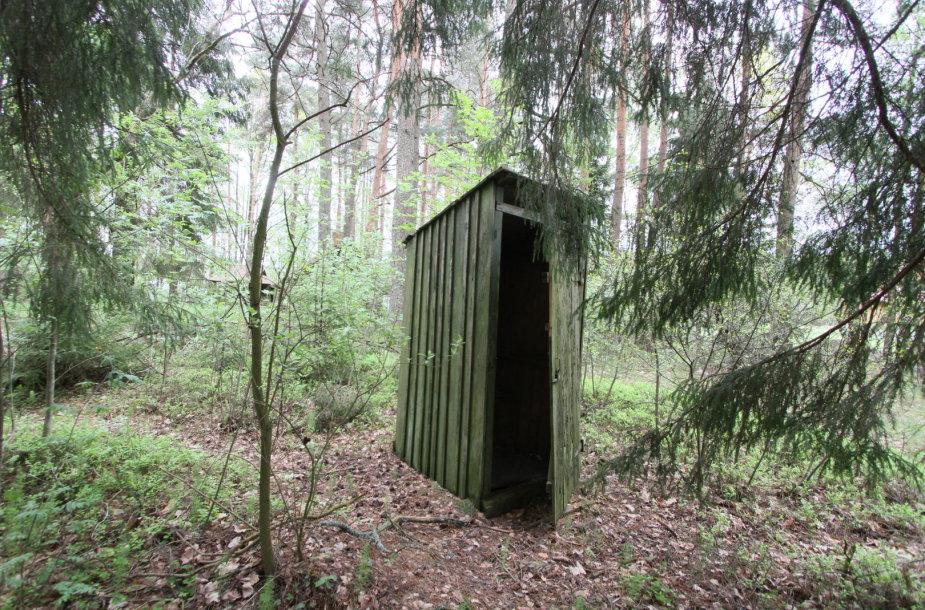 Tualeto būdelė, lauko tualetas