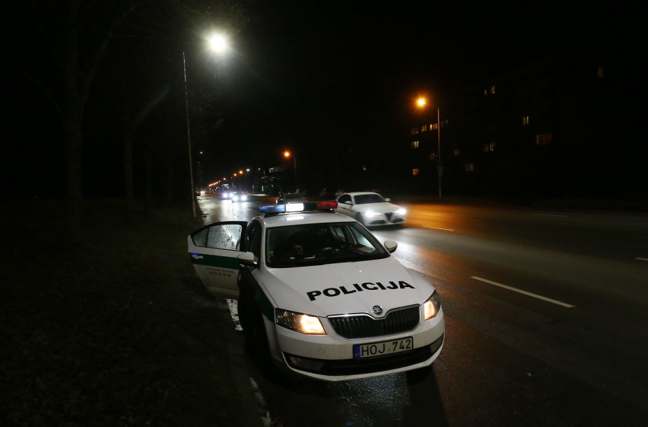 Policija fiksuoja greičio viršijimą