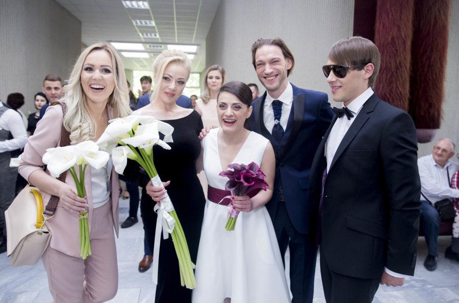Lizos Kogan ir Luko Lukoševičiaus vestuvių akimirka