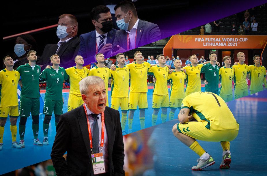 Lietuvos salės futbolo rinktinėje – daug paslaptingų ėjimų