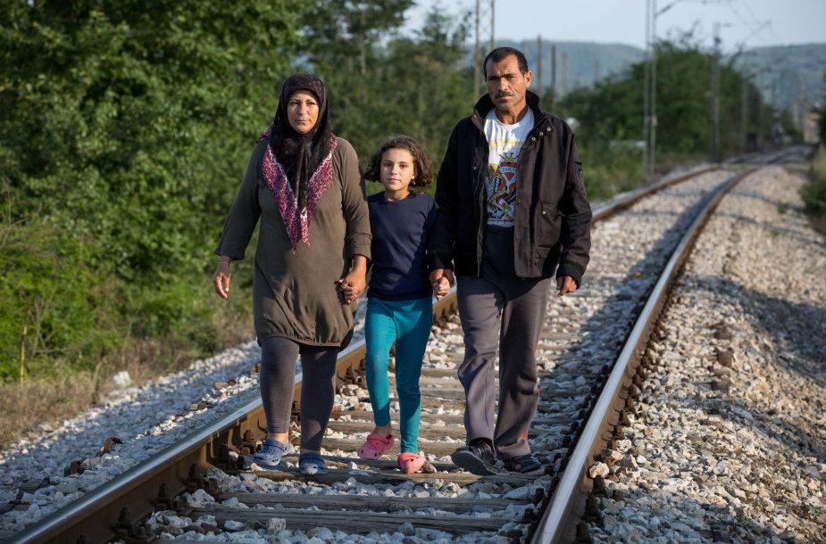 Hiba Al Nabolsi yra karo sąlygomis užaugusi 10 metų sirų mergaitė, gyvenanti pabėgėlių centre