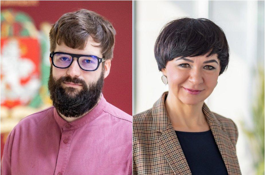 Povilas Poderskis ir Lina Koriznienė