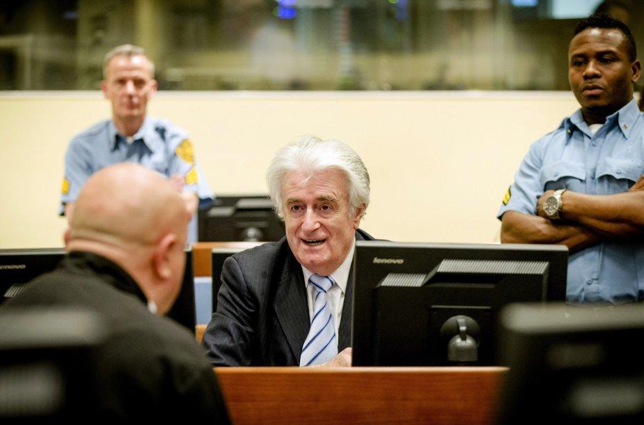 Radovano Karadžičiaus nuosprendžio paskelbimas Hagos Jungtinių Tautų karo nusikaltimų teisme