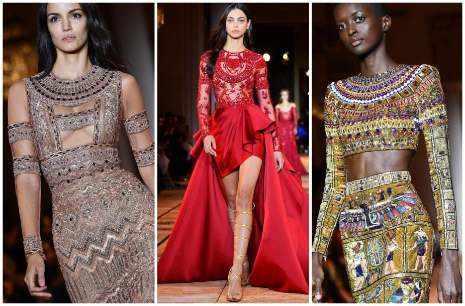 """""""Zuhair Murad"""" 2020 m. pavasario ir vasaros kolekcijos modeliai"""