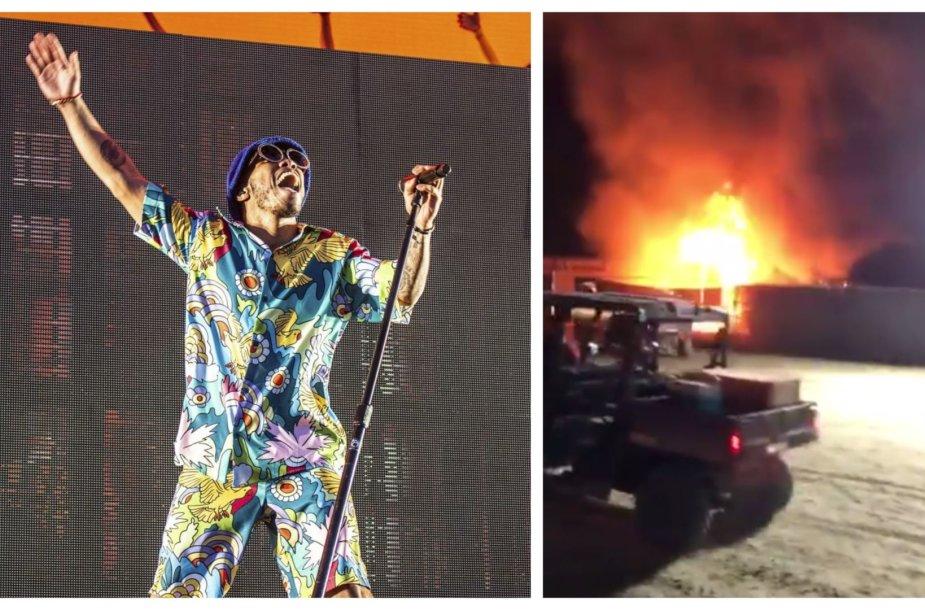 """Coachella"" festivalio akimirkos"