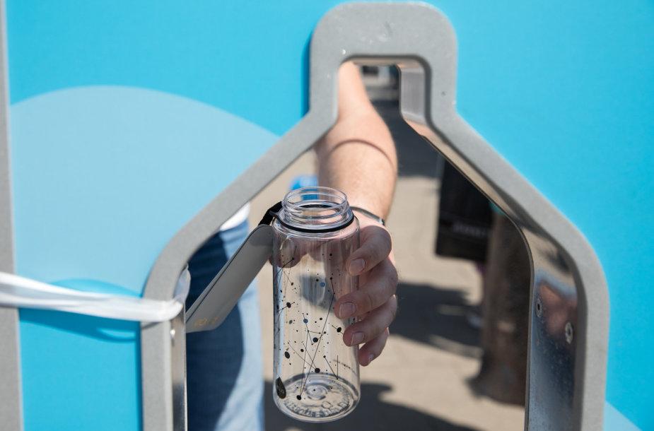 Mobiliųjų vandens gertuvių atidarymas