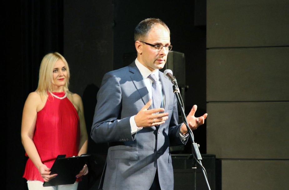 Astros generalinis direktorius Vaidas Liesionis