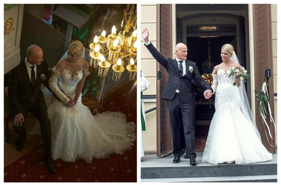 Ievos Jotkėlaitės ir Juozo Tubino vestuvių akimirkos