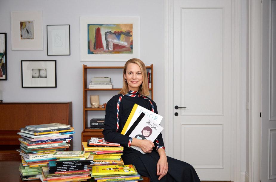 """Rita Paškevičienė e-knygyno """"Vaikystė"""" įkūrėja"""