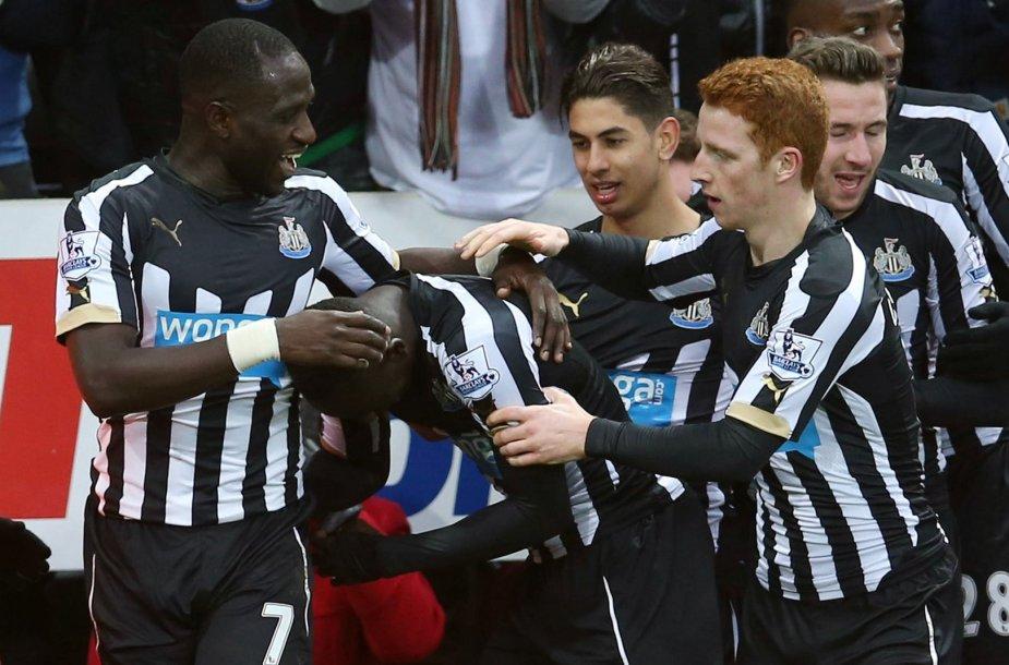 """Newcastle United"" futbolininkai"