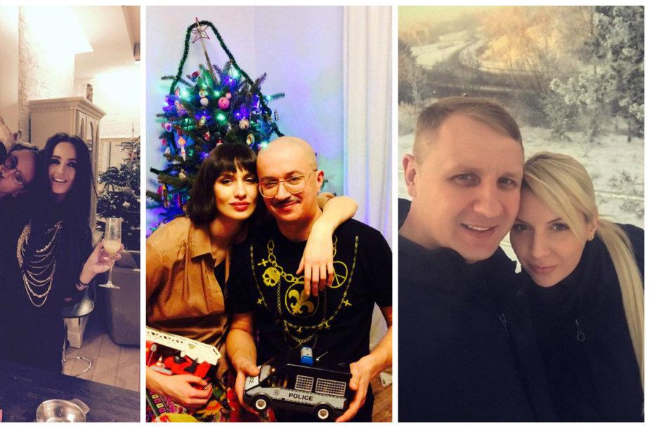 Marijonas Mikutavičius ir Ieva Daugirdaitė, Monika Račiūnaitė ir Aleksandras Pogrebnojus, Andrius Šedžius ir Monika Šedžiuvienė