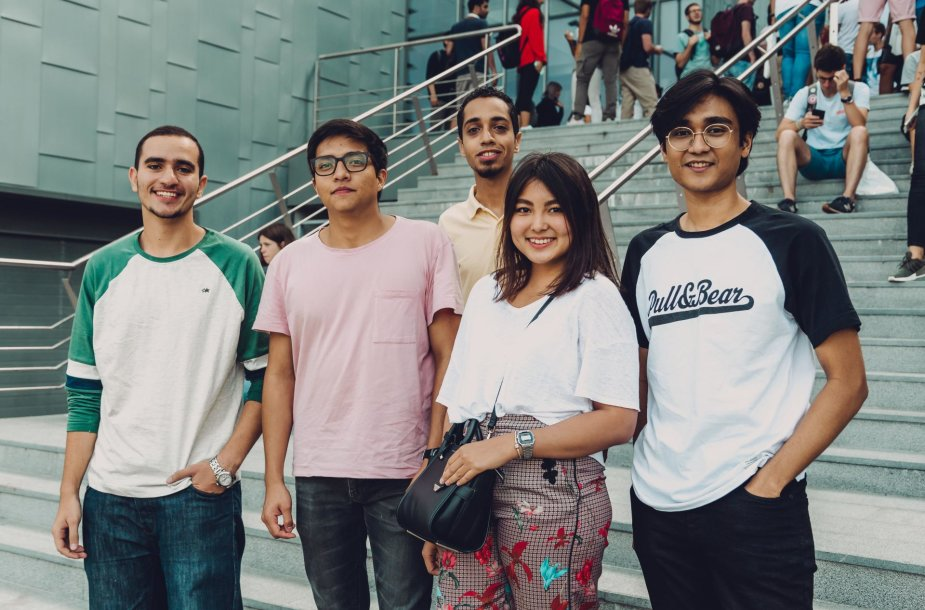 VGTU foreign students