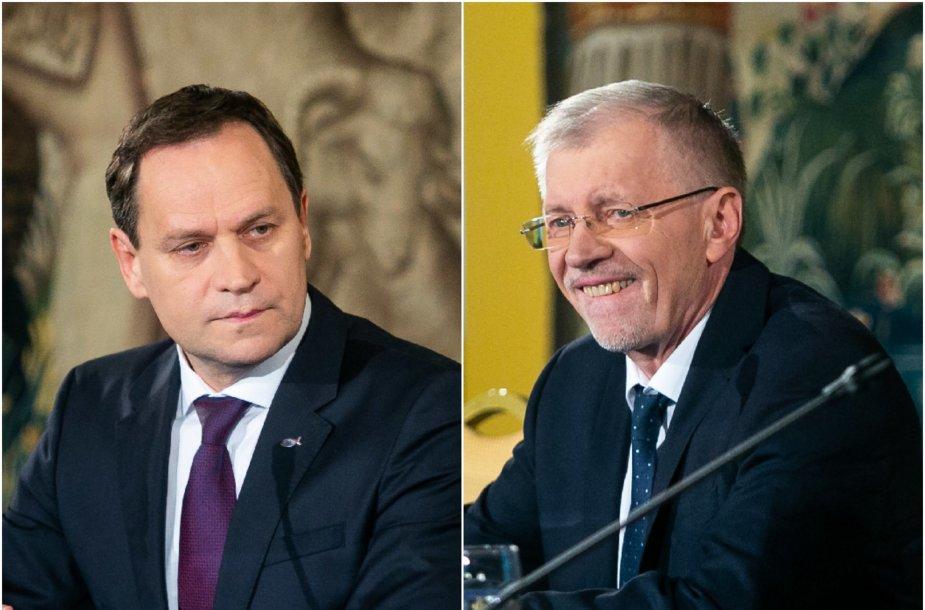 V.Tomaševskis ir G.Kirkilas
