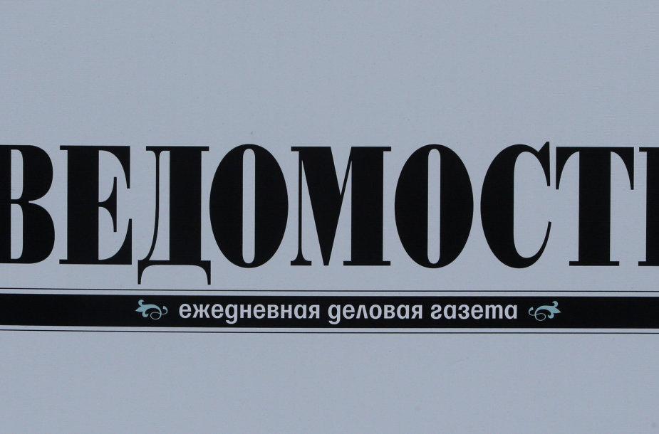 "Laikraštis ""Vedomosti"""
