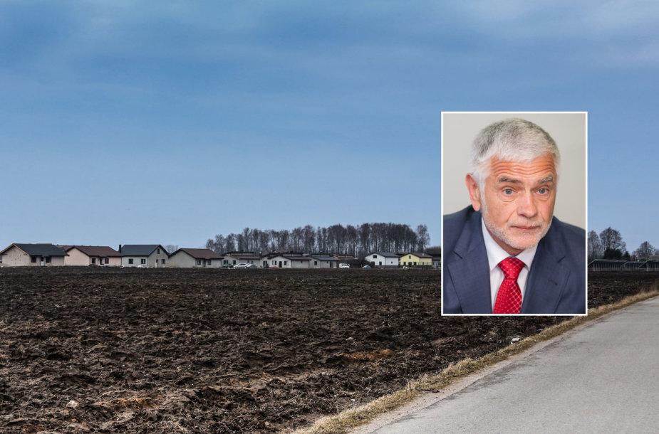Žemės ūkio ministro B.Markausko artimieji šeimininkauja šioje žemėje