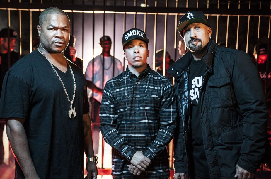 Xzibit, B-Real ir Demrick