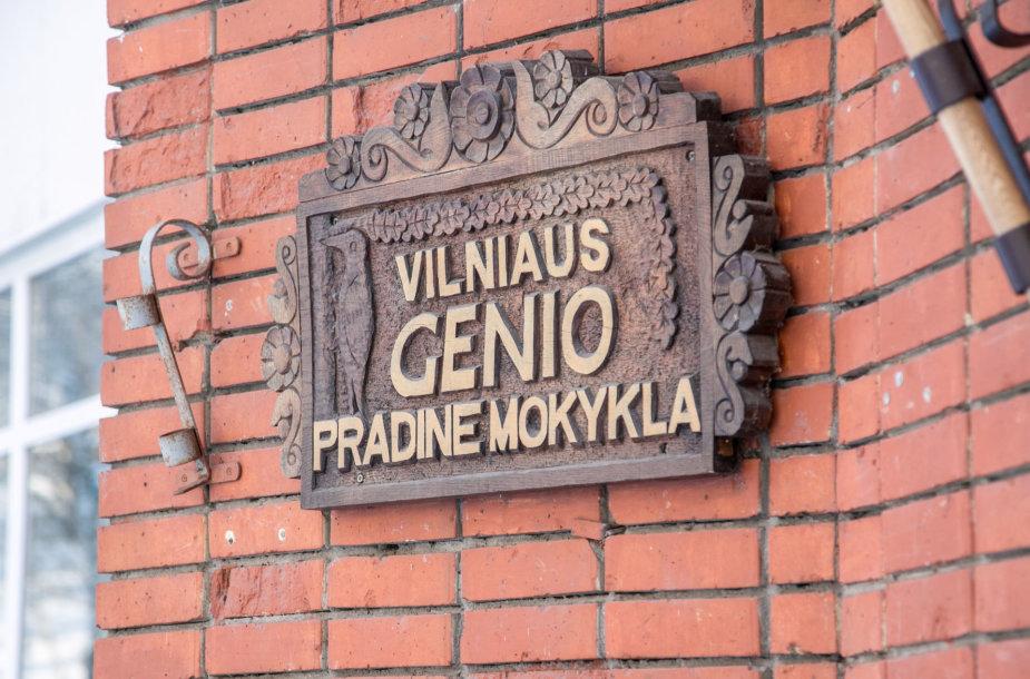 """Vilniaus """"Genio"""" pradinė mokykla"""