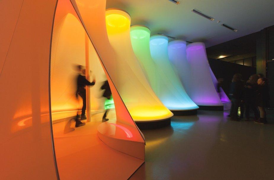 """A.Kašuba, """"Spektro užuomina. 1975 metų projektas Nacionalinėje dailės galerijoje"""", 2014"""