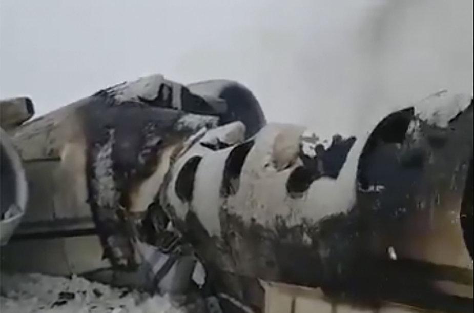 Afganistane sudužęs lėktuvas