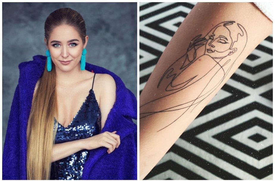 Monika Marija pasidarė tatuiruotę