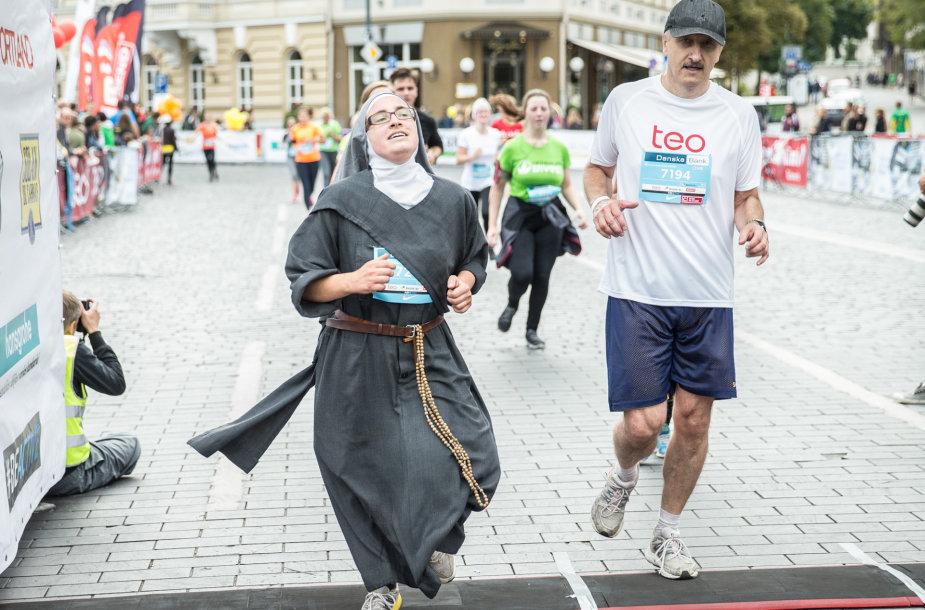 Vilniaus maratone – vienuolė iš Prancūzijos