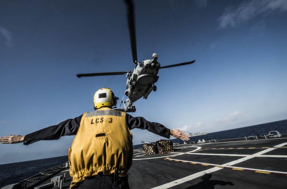MH-60R karinis sraigtasparnis