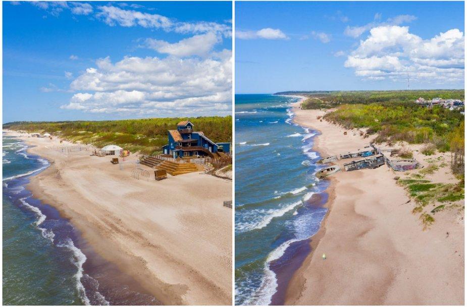 Klaipėdos paplūdimiai