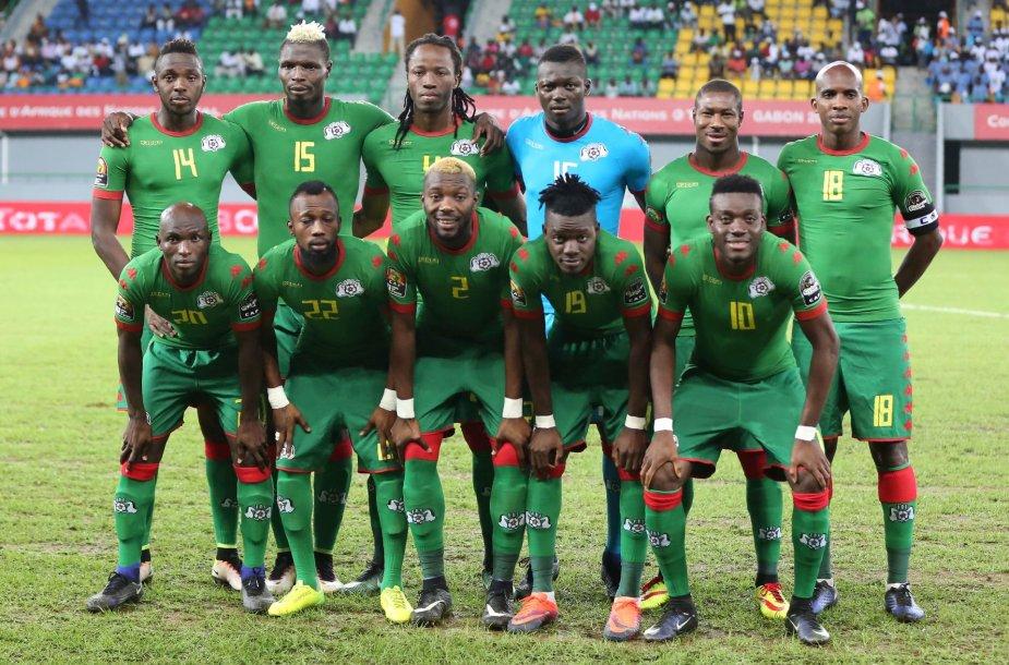 Burkina Faso rinktinė