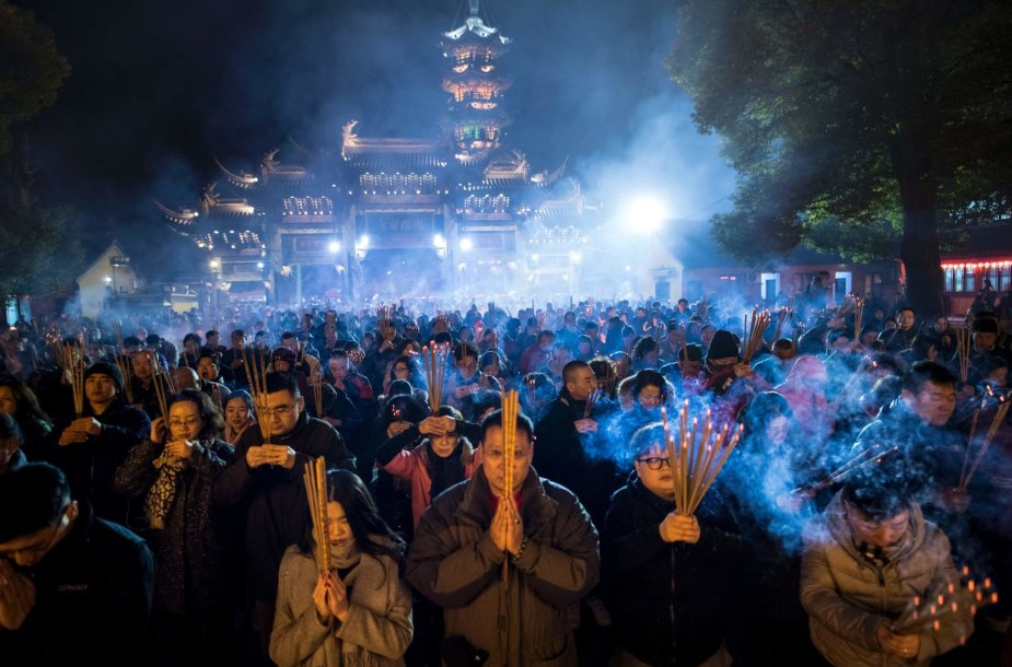 Naujųjų metų sutikimas Kinijoje
