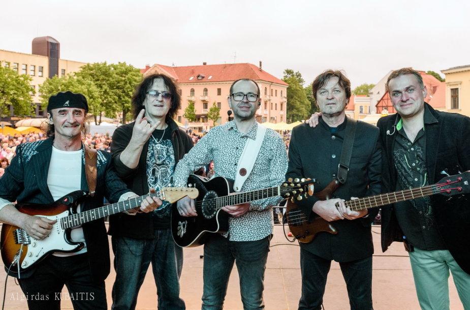 "Grupė ""Hiperbolė Tribute Band"""