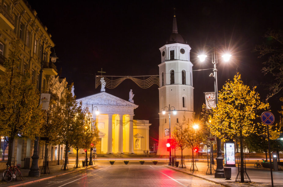 Rudens vakaras Vilniuje