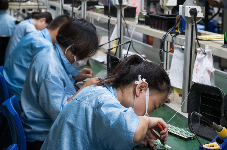 Kinijos darbuotojai
