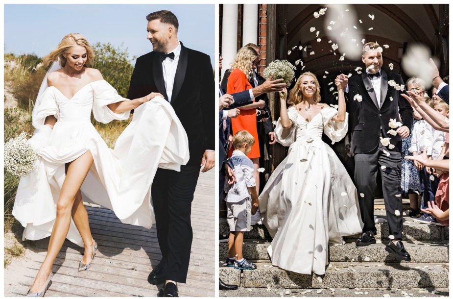 Alvydos Navickaitės ir Gedimino Petrausko vestuvių akimirkos