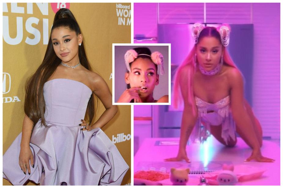 """Ariana Grande padavė į teismą drabužių tinklą """"Forever 21"""""""