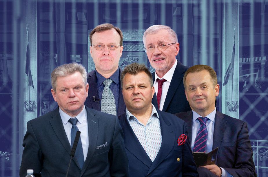 Į Seimą nebeišrinkti politikai