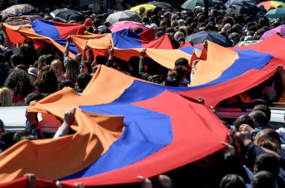 Armėnija mini 103-as armėnų genocido metines